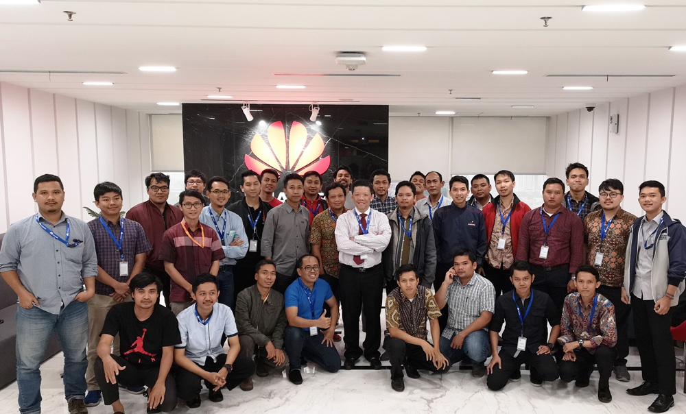 HCNA-HNTD Training (Jakarta, Indonesia) - April 2018