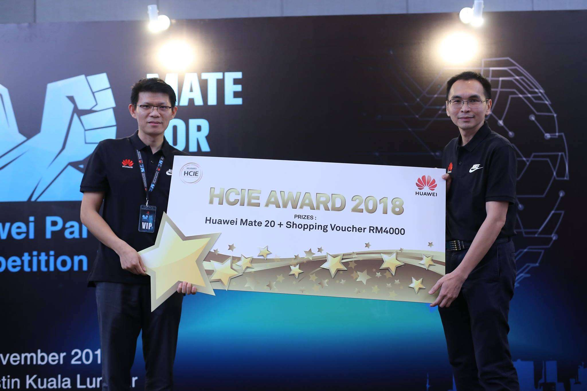 Huawei Partner ICT Skill Competition Malaysia 2018 – 20